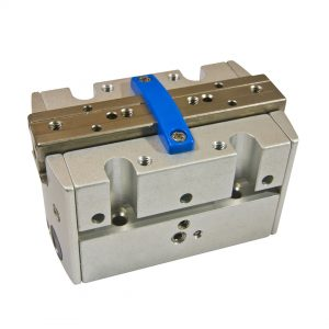 pneumatic adaption plate with Punch Tap threads