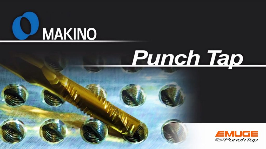 Makino can save time with Punch Tap